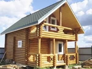 Дома из бревна для зимнего проживания