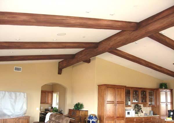 Трещины на деревянных балках – как отремонтировать