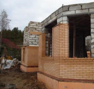 Стоимость работ по кладке стен