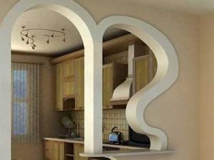 Арки в интерьере — оригинальный способ оформления дверного проема