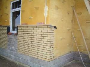 Утепляем стены пенопластом своими руками